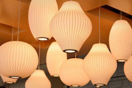 גופי תאורה צמודי תקרה